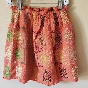 Peek Embroidered Skirt size 8